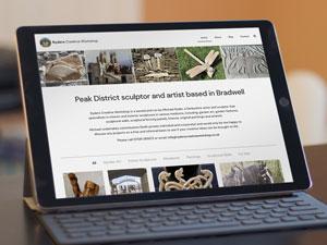 Artists website design Bradwell